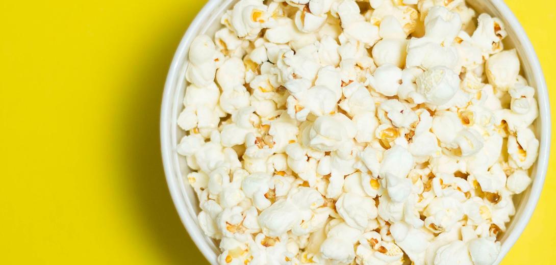 Bowl Delicious Popcorn 1764338